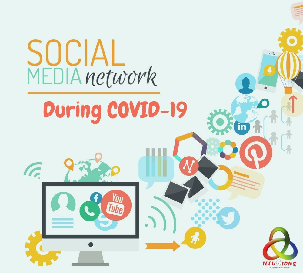 COVID-19 a pandemic for world but favourable for Social Media platform.