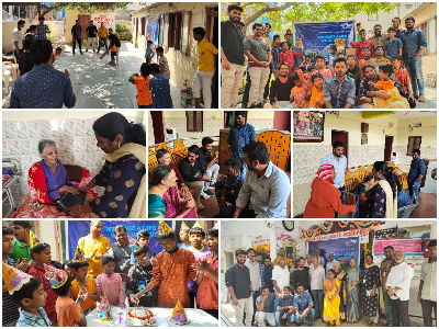Raybiztech conducts CSR campaign to donate Essential Items
