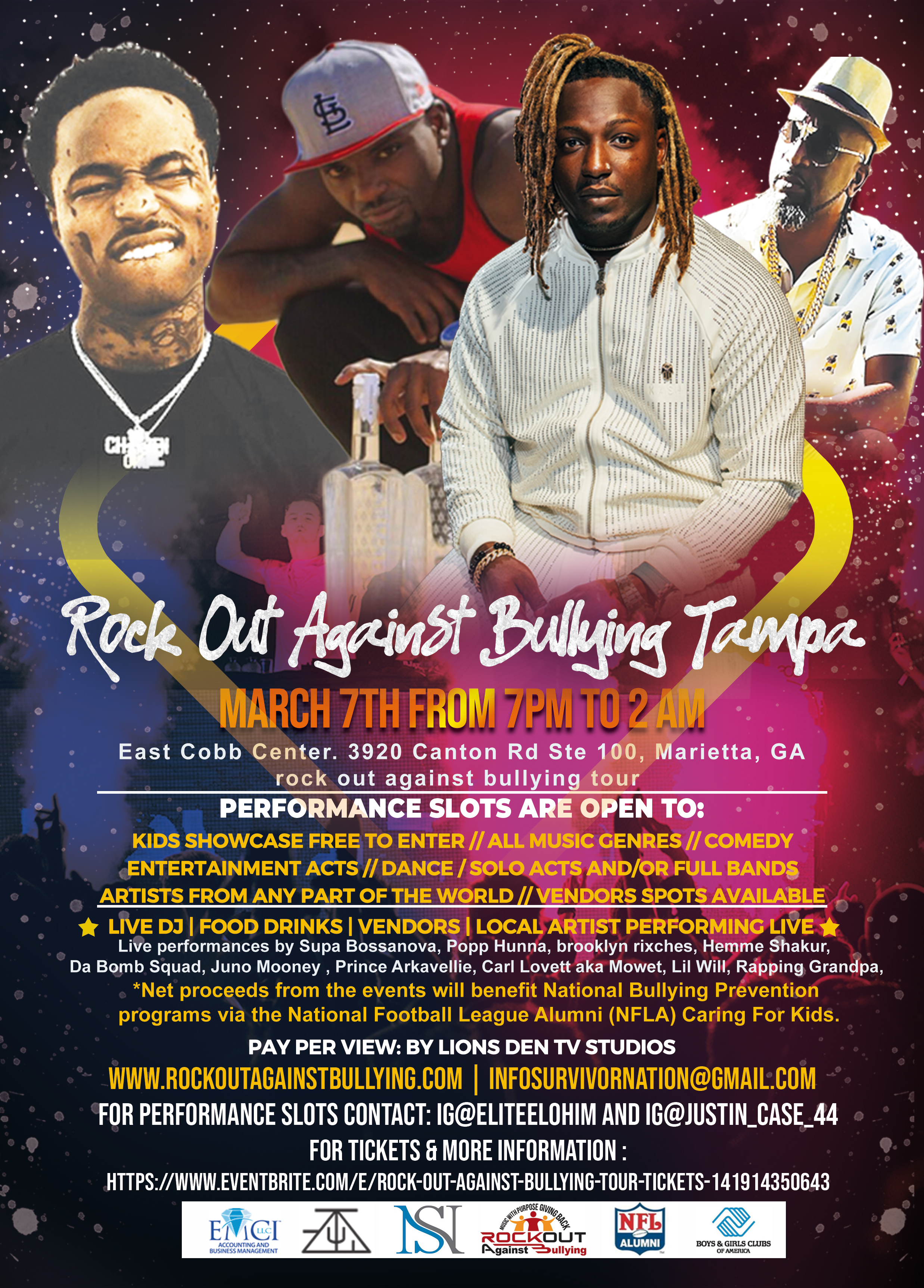 Rock Out Against Bullying Tour Comes to Atlanta All-Star Weekend