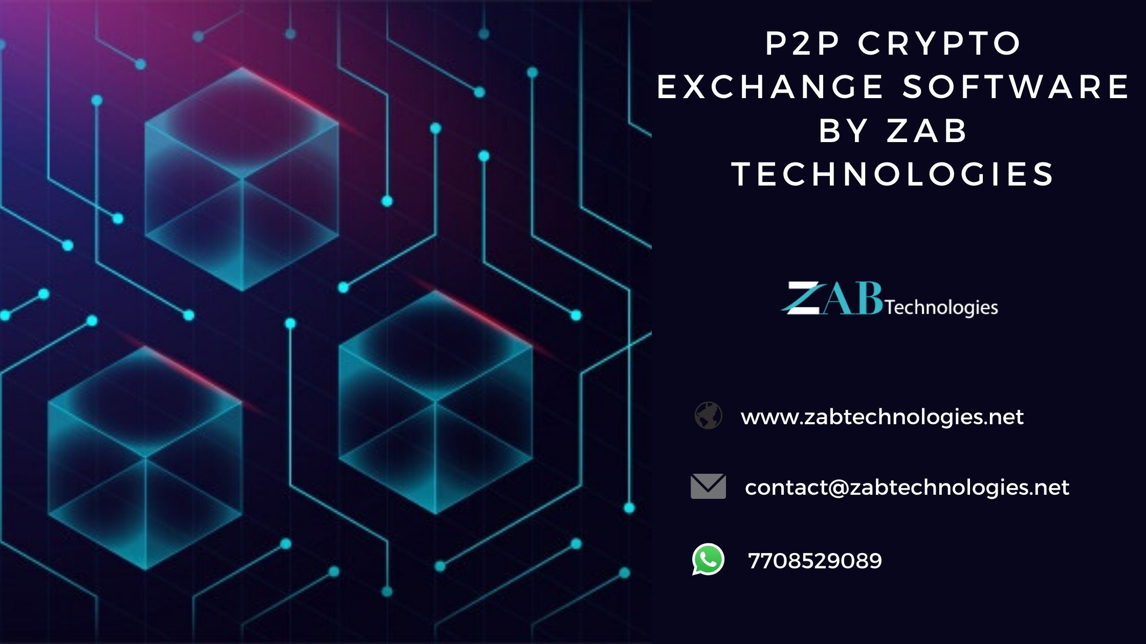 Zab Technologies presents the Brand new p2p crypto exchange software with reliable security features