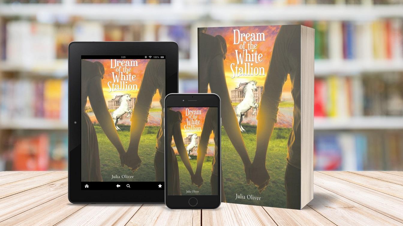 Author Julia Oliver Promotes Her Historical Romantic Novel - Dream of the White Stallion