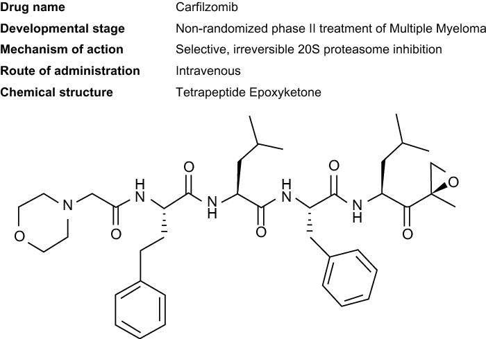 Huateng Pharma Develpoed Kinds Of Intermediates For Carfilzomib