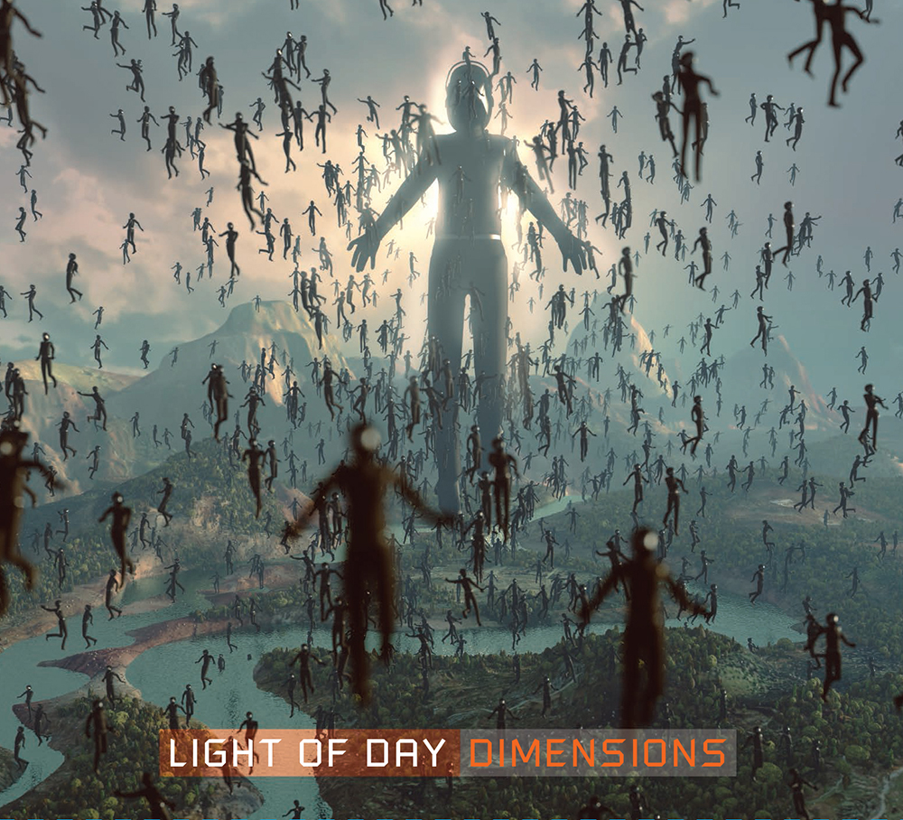 """ROBERT DEAN (EX-JAPAN, GARY NUMAN & SINEAD O'CONNOR) AND ISAAC MORAGA AS 'LIGHT OF DAY' RELEASE NEW ALBUM """"DIMENSIONS"""" ON [LAST WORD MUSIC]."""