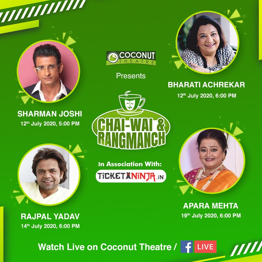 "Coconut Theatre Presents ""Chai-Wai  Rangmanch - 2020"