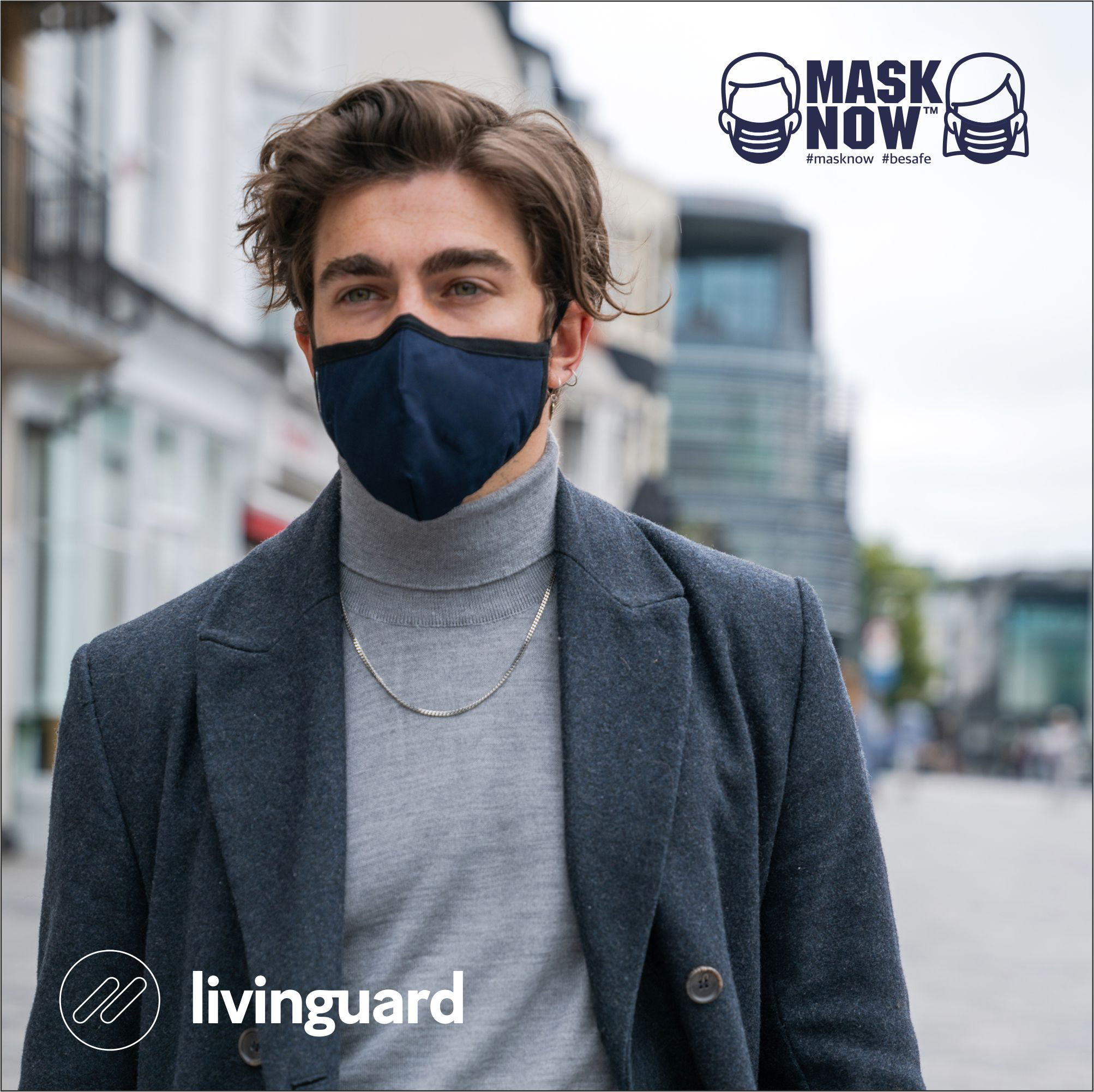 MaskNow.Co.uk brings revolutionary Livinguard face masks to UK