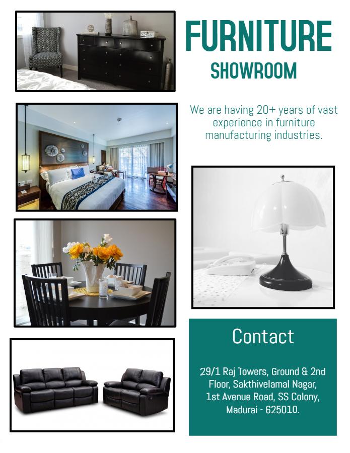 Furniture Showroom in Madurai | Online Furniture Showroom