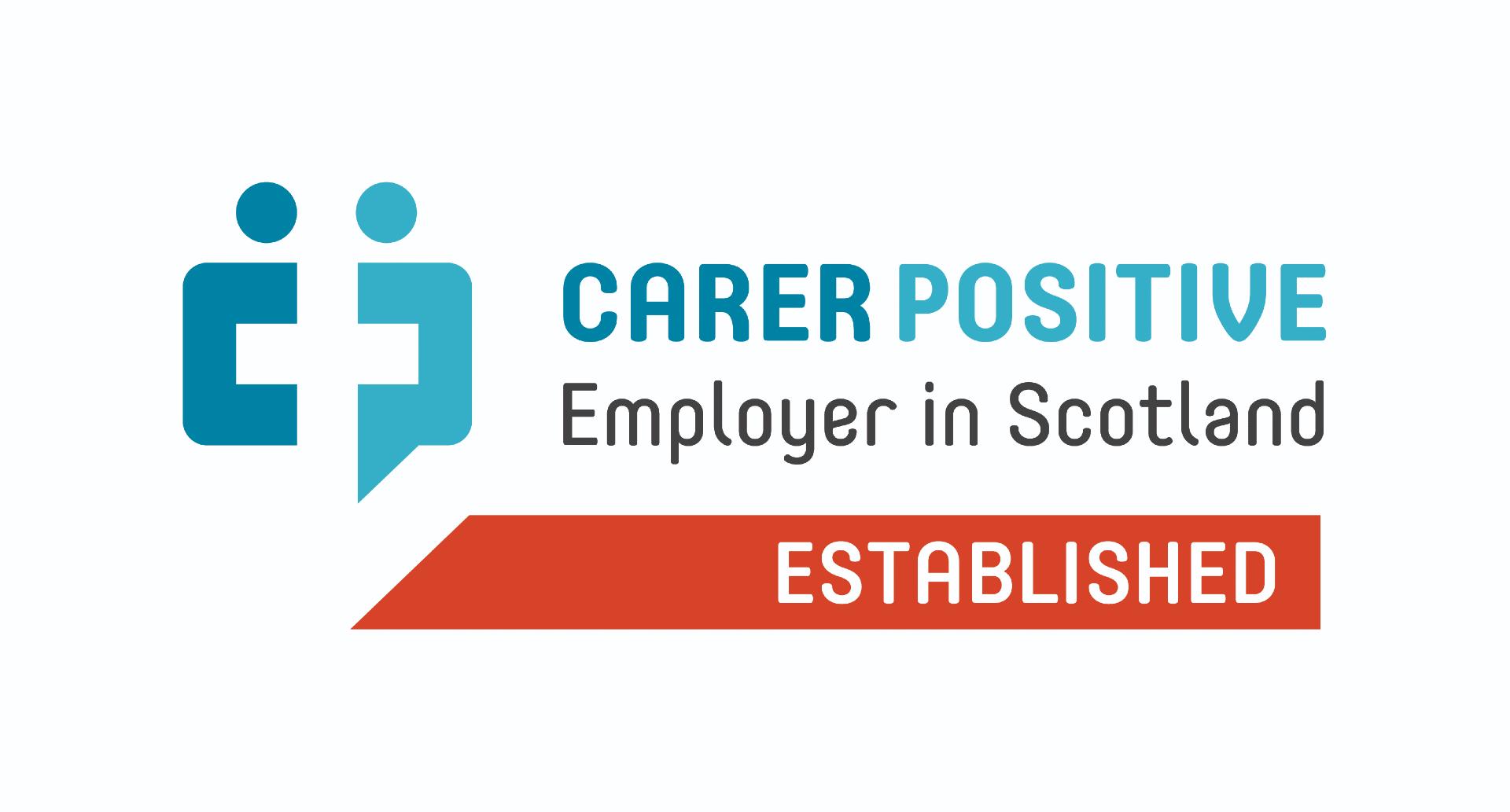 Carers Scotland recognises eCom Scotland as an Established Caring Employer