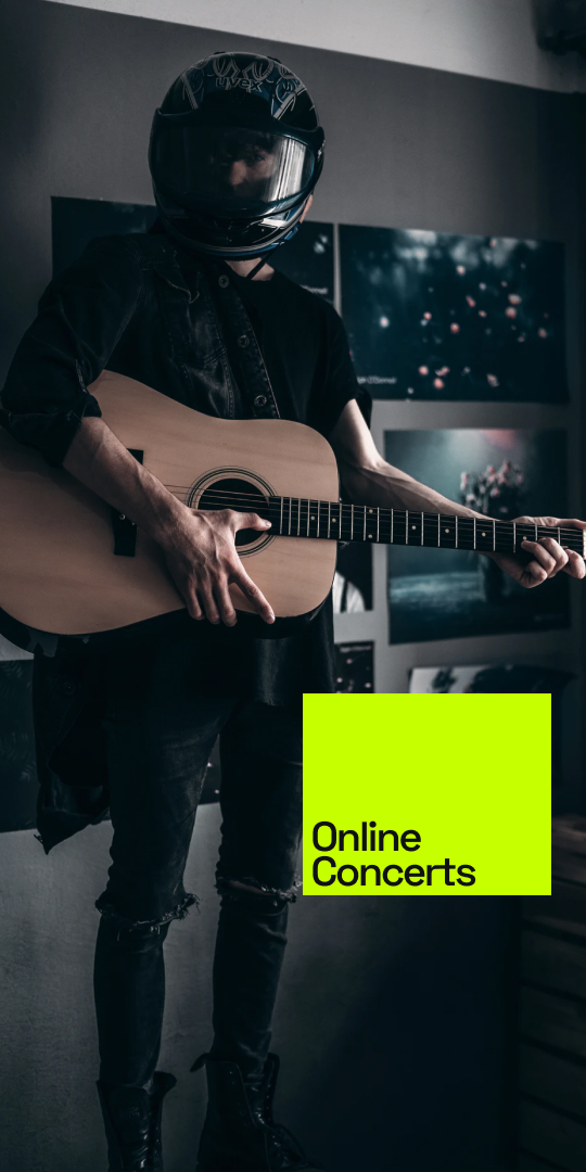 Musicians breach industry barriers by setting up own ticketed online concerts on Show4me Music Interaction Network