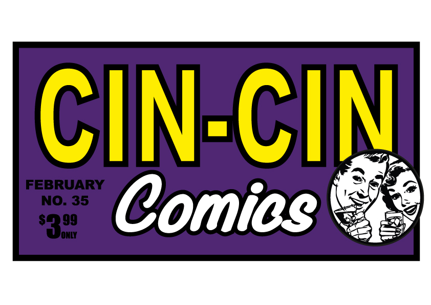 Cin-Cin Comics by Marwan Chamaa