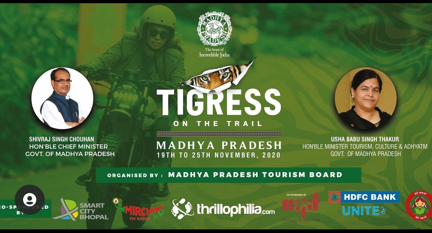 The Best Of Madhya Pradesh On The Road: Tourism Board Kicks-off An All-Woman Bike Tour With Thrillophilia