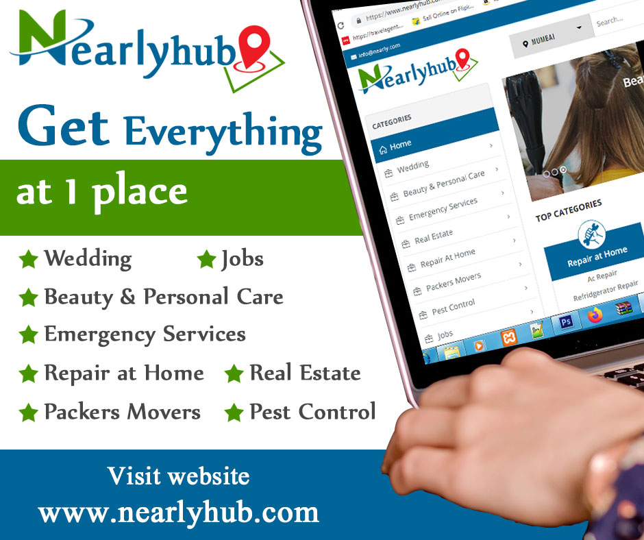 Nearlyhub – Get Everything in One Place.