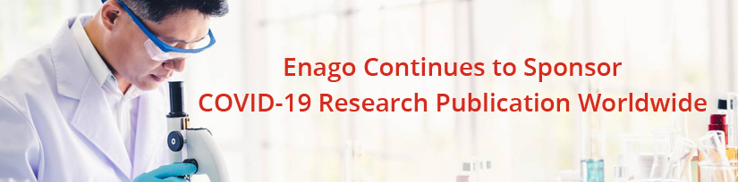 Enago Continues To Sponsor COVID-19 Research Publication Worldwide