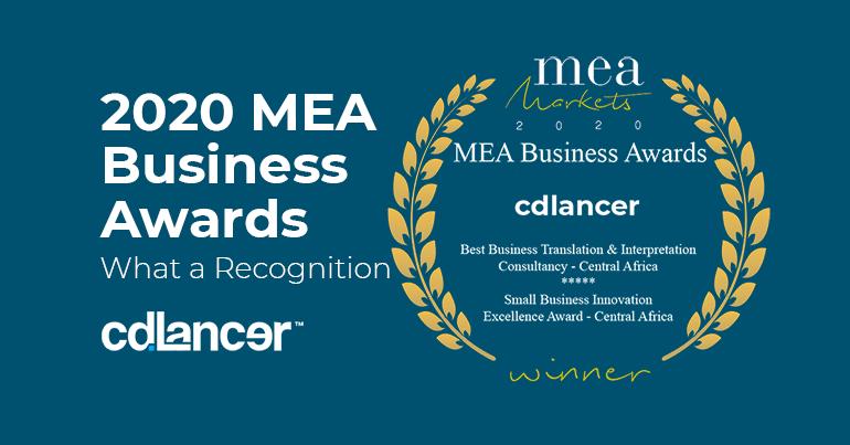 cdlancer Receives Two Best African Business Awards