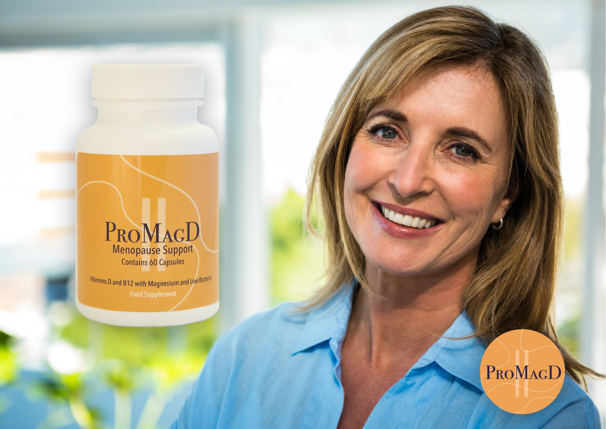 NEW MULTIVITAMIN TO EASE MENOPAUSE SYMPTOMS