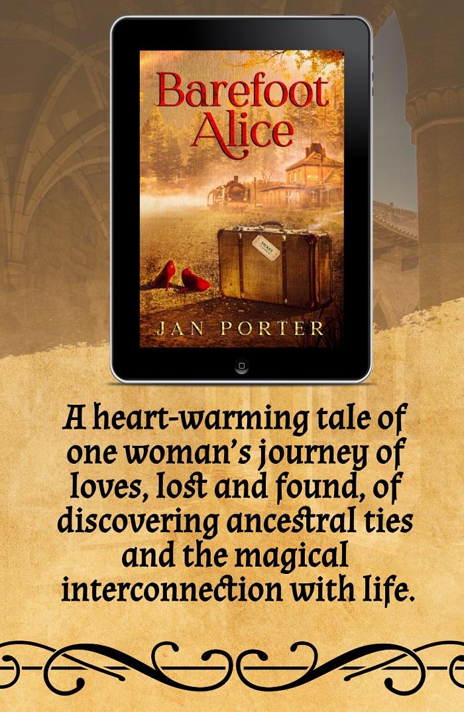 Jan Porter Releases New Women's Literary Novel - Barefoot Alice
