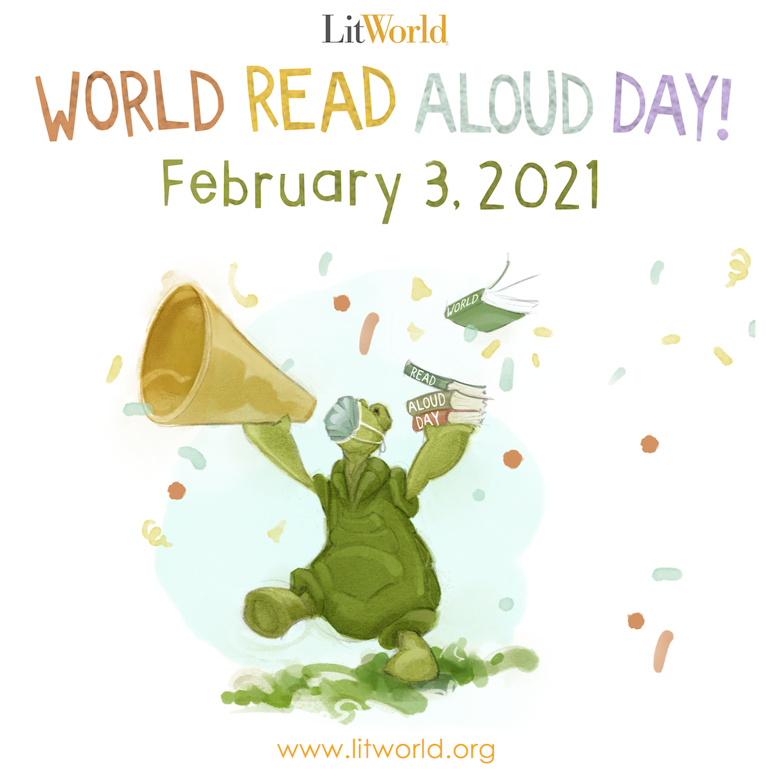 "LITWORLD ANNOUNCES ""WORLD READ ALOUD DAY 2021"""