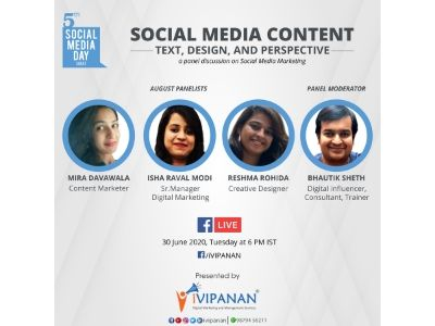 iVIPANAN Celebrated 5th Social Media Day Initiated by Mashable