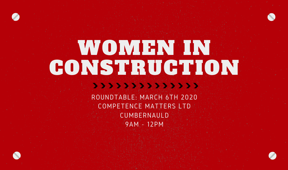 """Competence Matters welcomes Caroline Gumble to Roundtable to discuss """"Women in Construction"""""""
