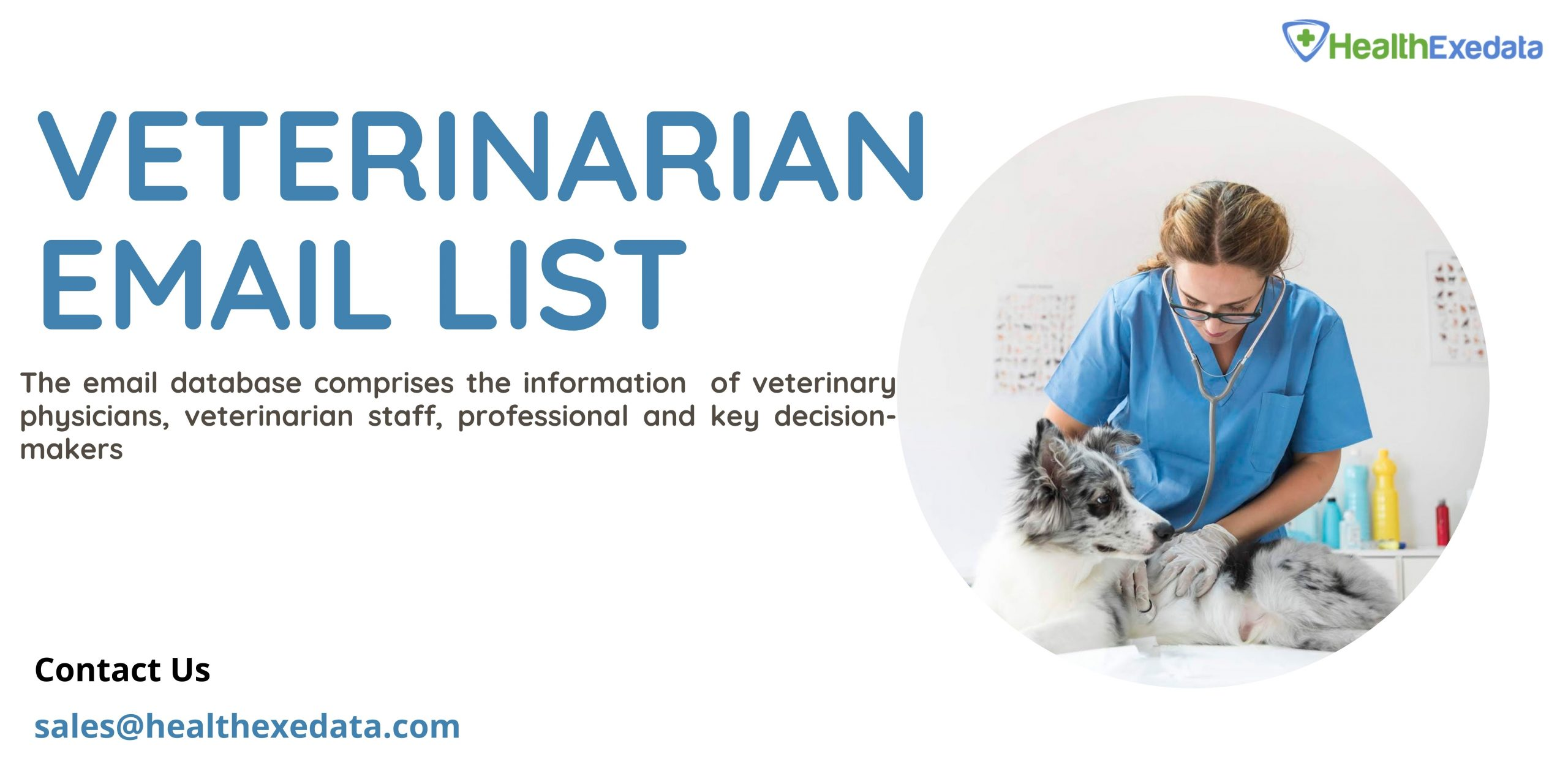 HealthExeData Provides a Solution to Healthcare Marketing Challenges with the Veterinarian Email List