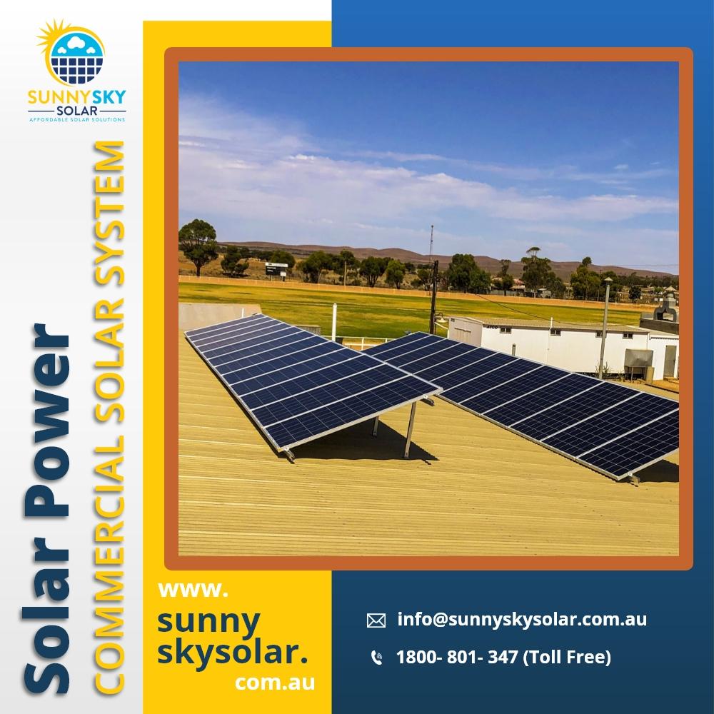 Sunny Sky Solar brings Hybrid Solar Power System across Queensland, Australia