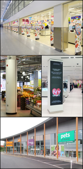 Retail Therapy – Decorative casing solutions for retail