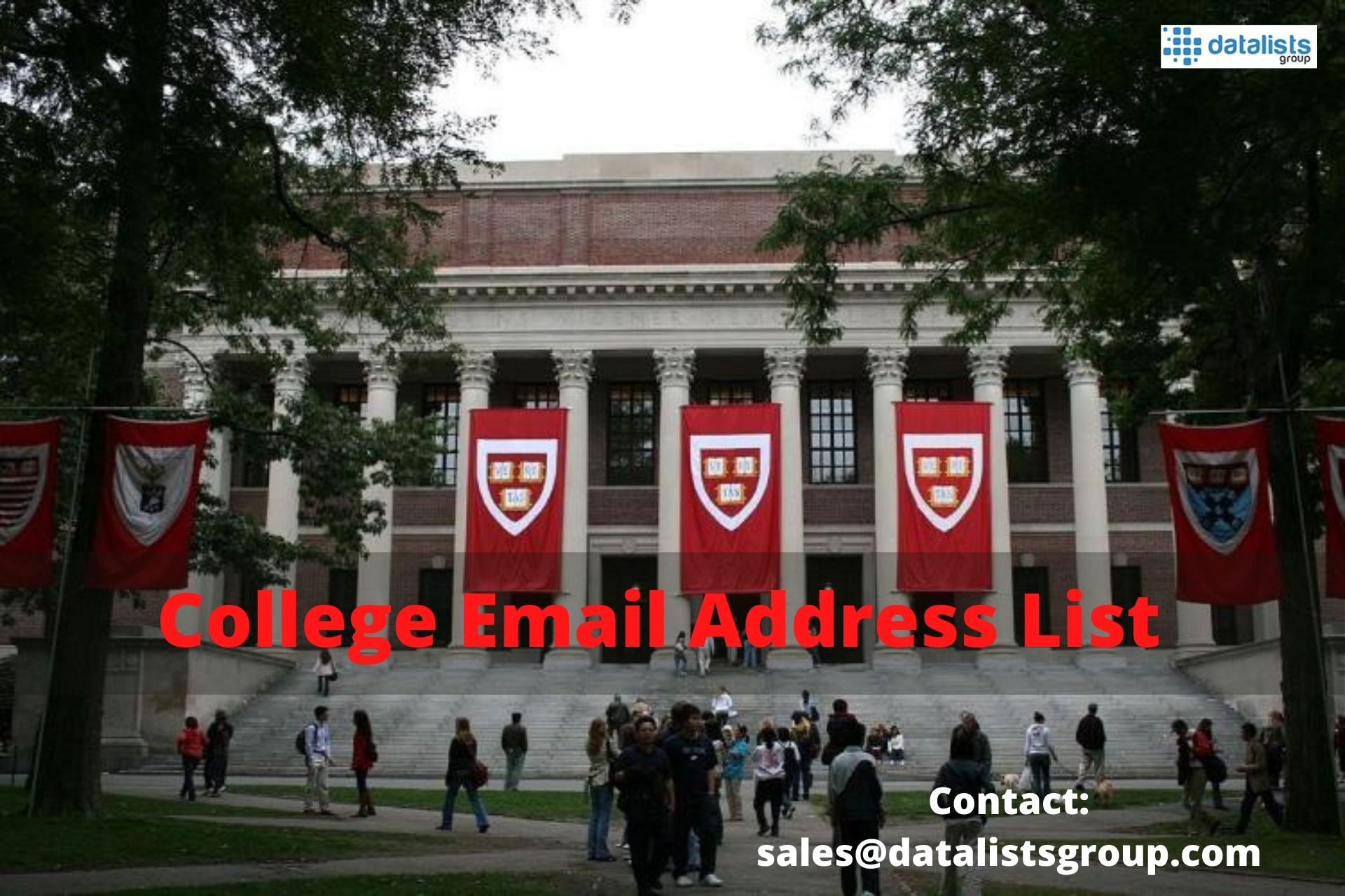 DataListsGroup offers Comprehensive College Email Address List to Simplify Marketing Campaigns