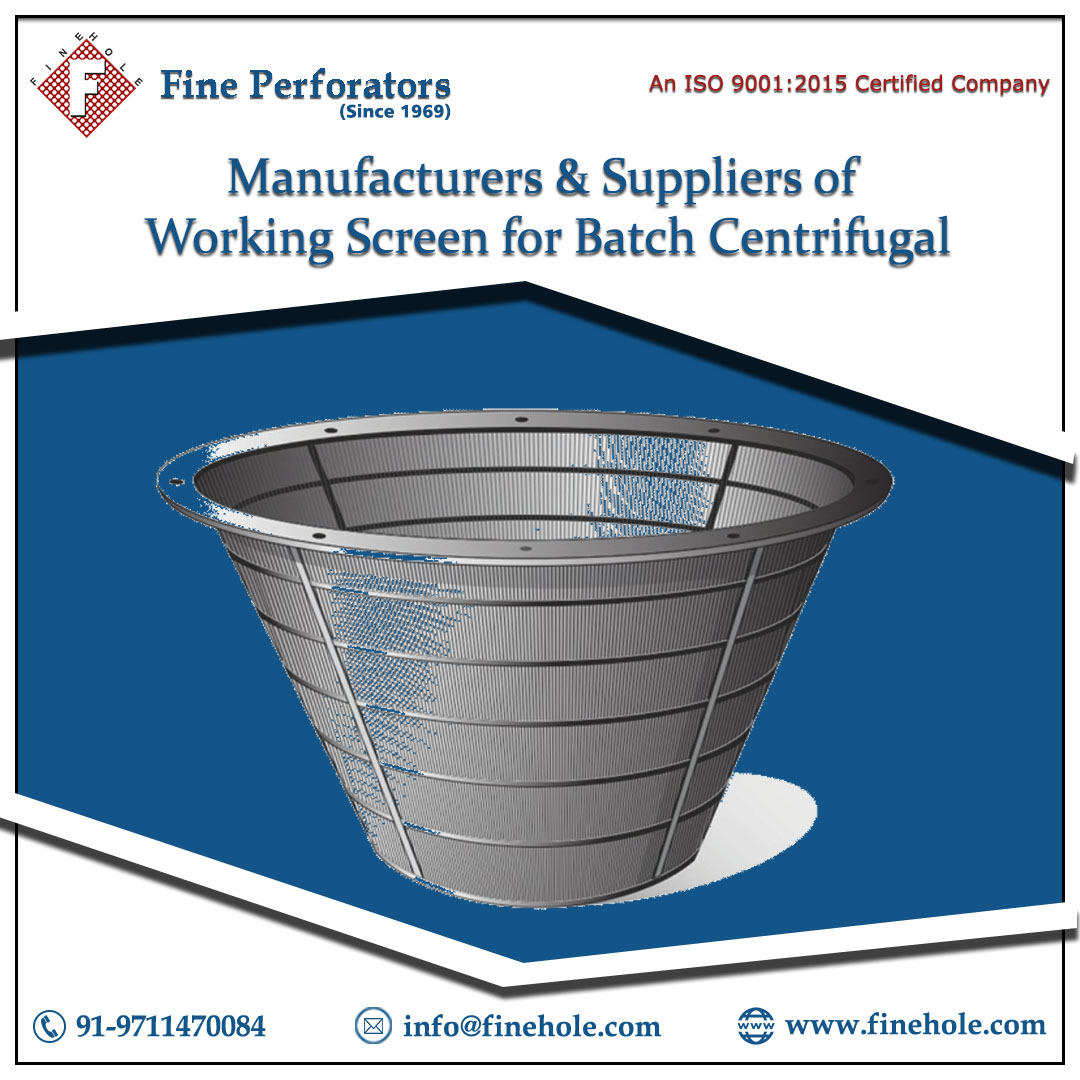 FINE PERFORATORS is a Leading Manufacturer and Exporter of High-Quality Sugar Screens