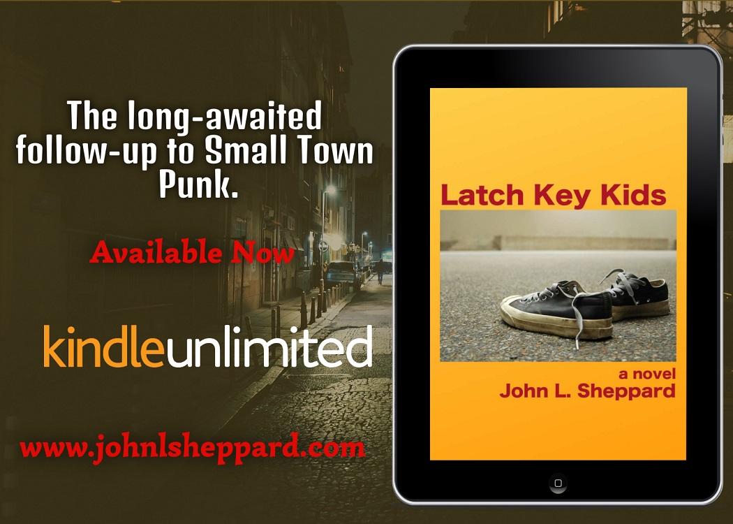 Author John L. Sheppard Releases New Novel - Latch Key Kids