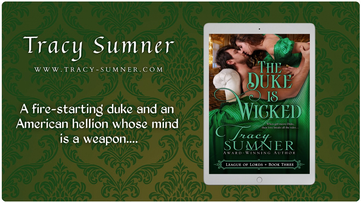 Author Tracy Sumner Releases New Regency Romance - The Duke is Wicked
