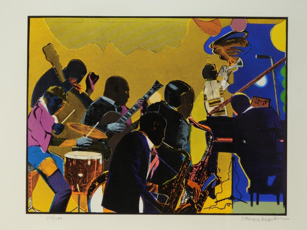 Artworks by Romare Bearden and Siebe Johannes Ten Cate Lead Bruneau  Co.'s Aug. 27th Estate Fine Art  Antiques Auction