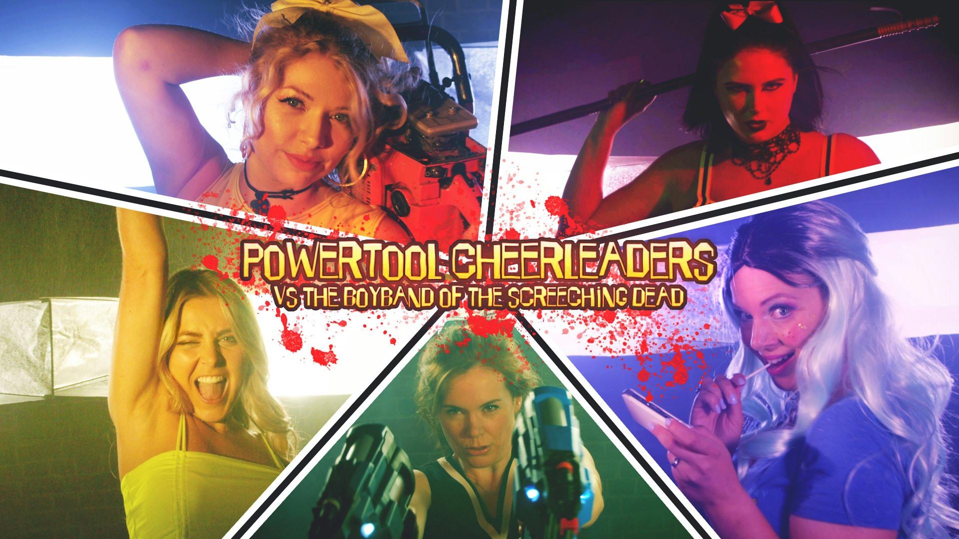 'Powertool Cheerleaders' most popular Kickstarter movie on the planet