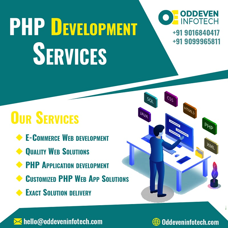 PHP Development Services in India | Oddeven Infotech