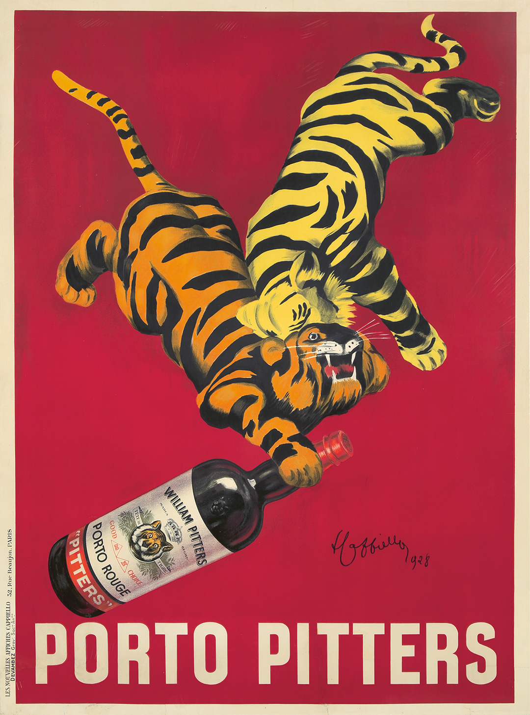 Poster Auctions International's Rare Posters Auction #81, July 21st, live and online, features 500 rare and iconic works