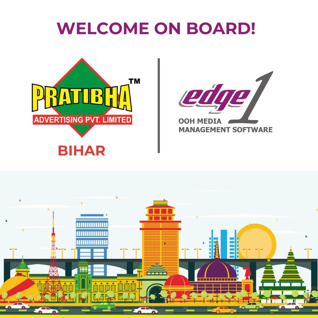 Pratibha Advertising implements Edge1 OOH Software