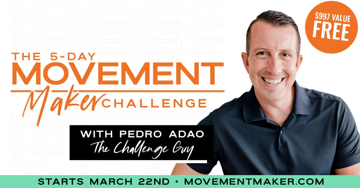 Pedro Adao's Movement Maker Challenge 2021 Launched