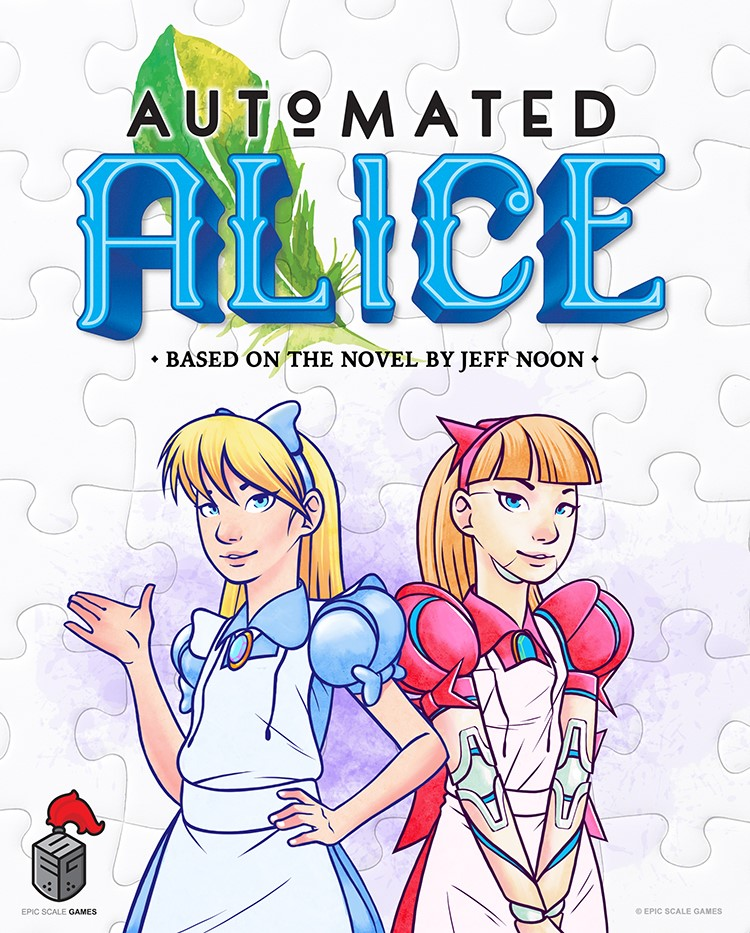 Epic Scale Games Secures Rights to Develop Cooperative Dice Placement Game Based on the Fantasy Novel Automated Alice by Jeff Noon