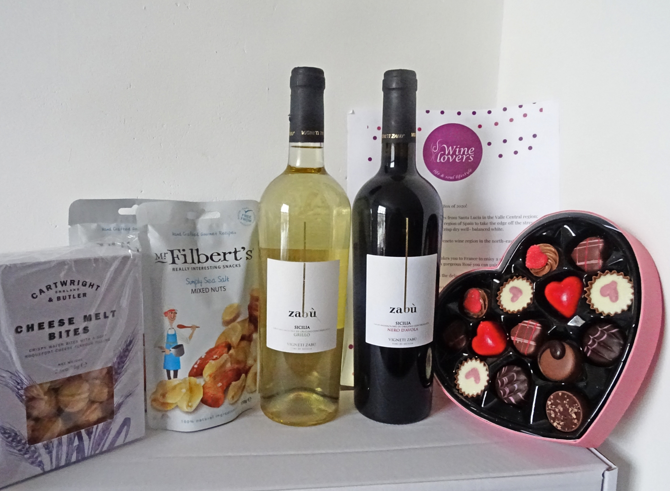 Introducing the Valentine's Day Wine Lovers Box Limited Edition