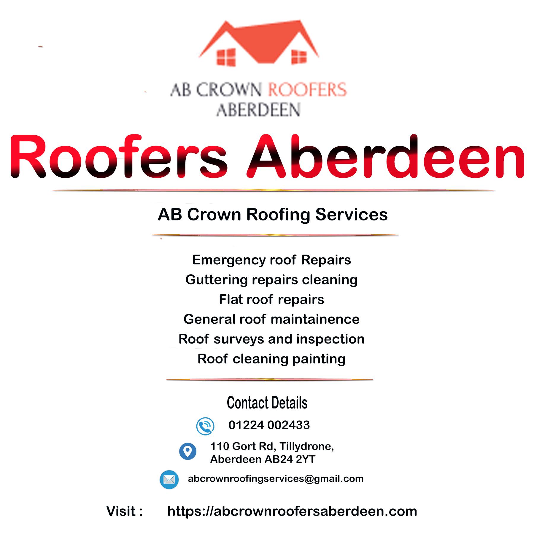 Best Recommened Roofers In Aberdeen