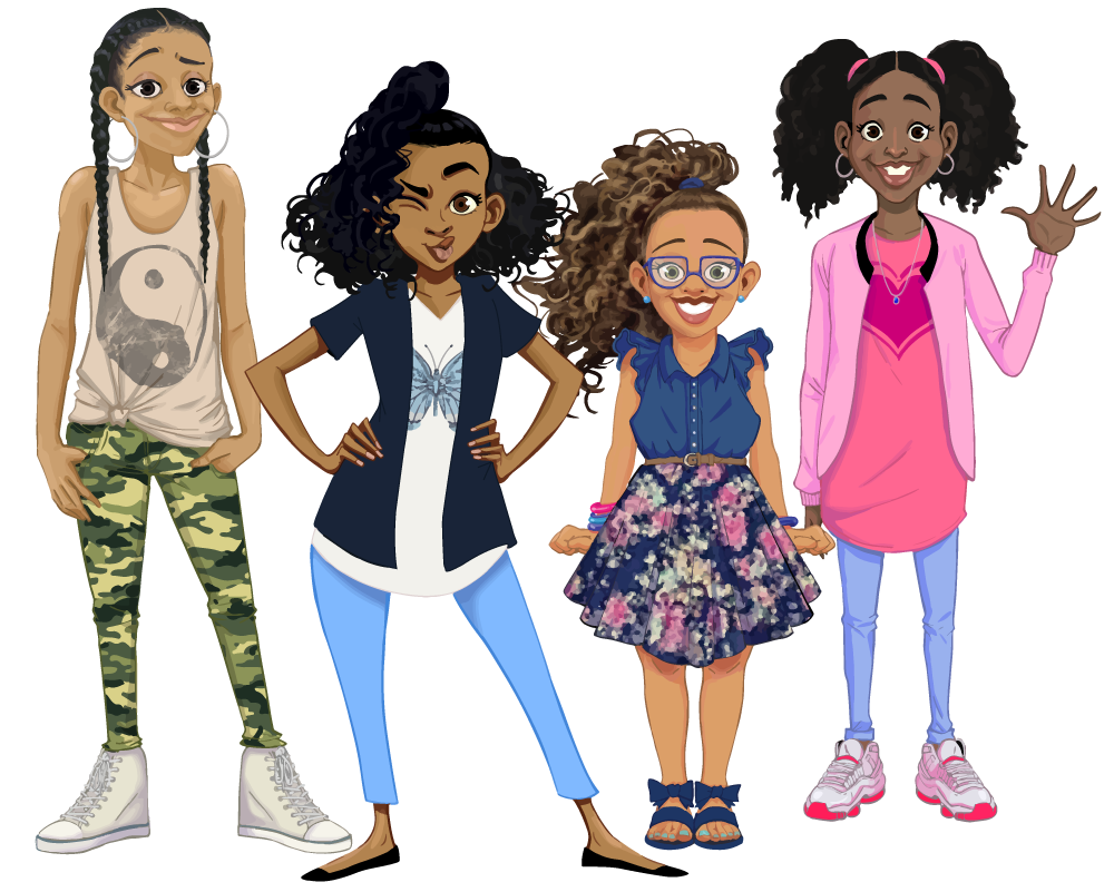 African-American Children's Chapter Book Series Addresses Identity, Character, and Self-Confidence