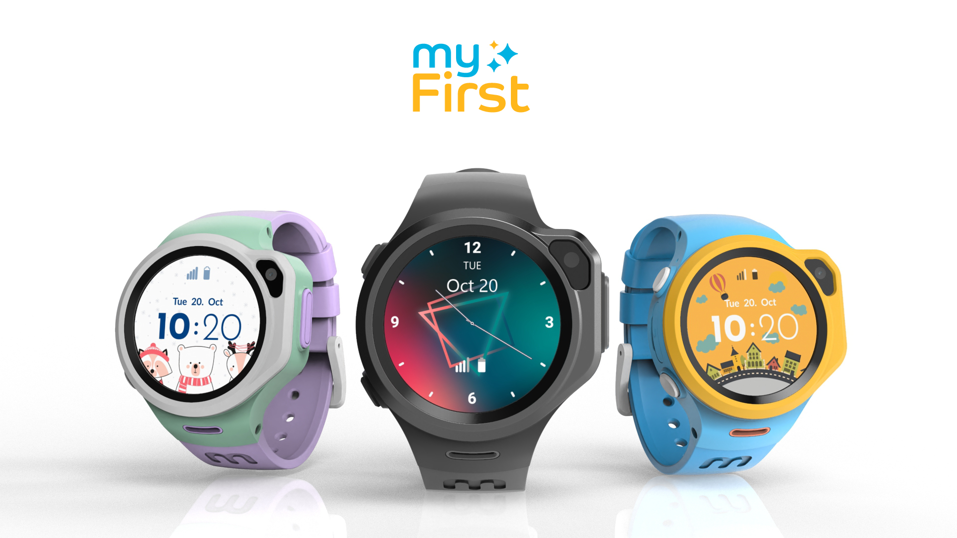 LTE Music Smartwatch for Next-Gen Kids, Made By myFirst