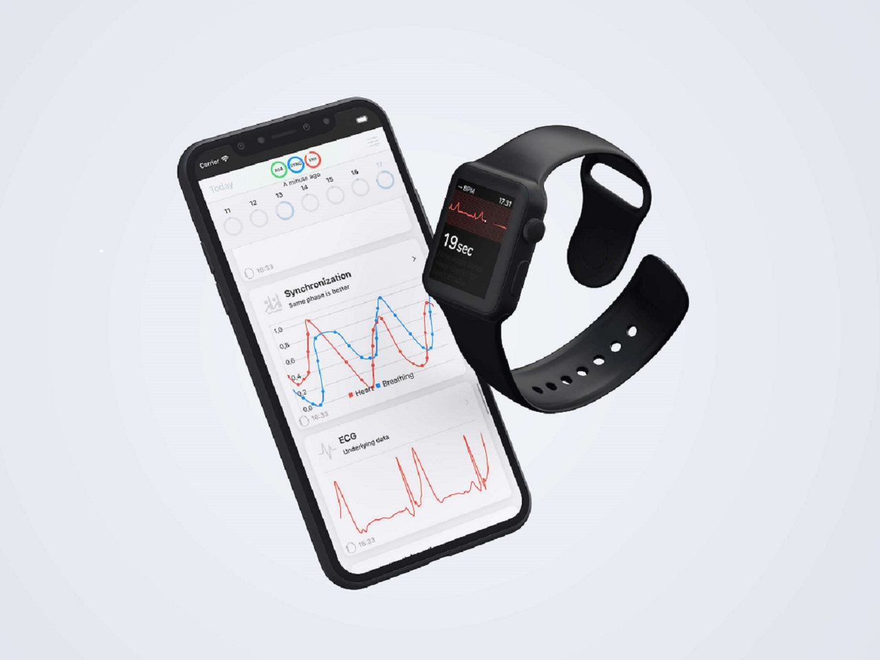 A new type of app for Apple Watch: 'VAGUS ECG - helping your health'