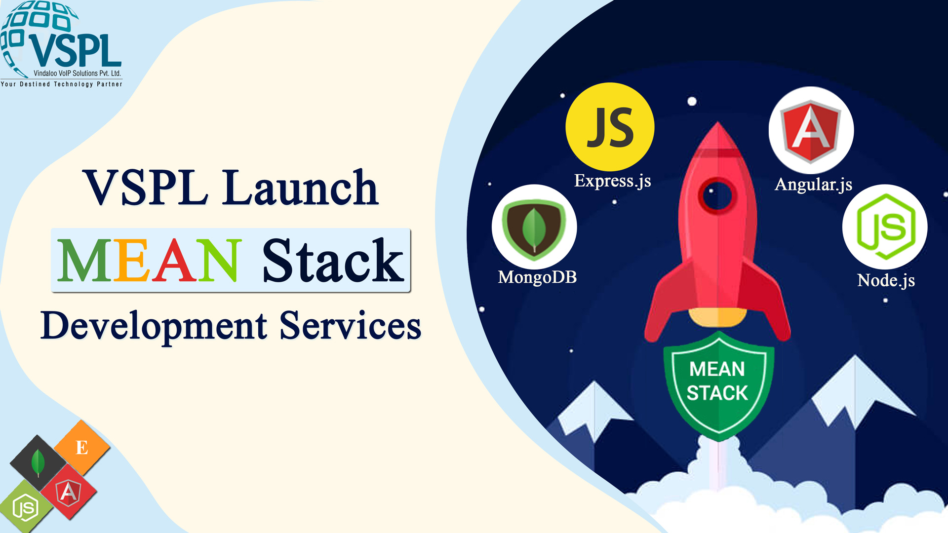 VSPL Announces to Launch of New Service Called MEAN Stack Development