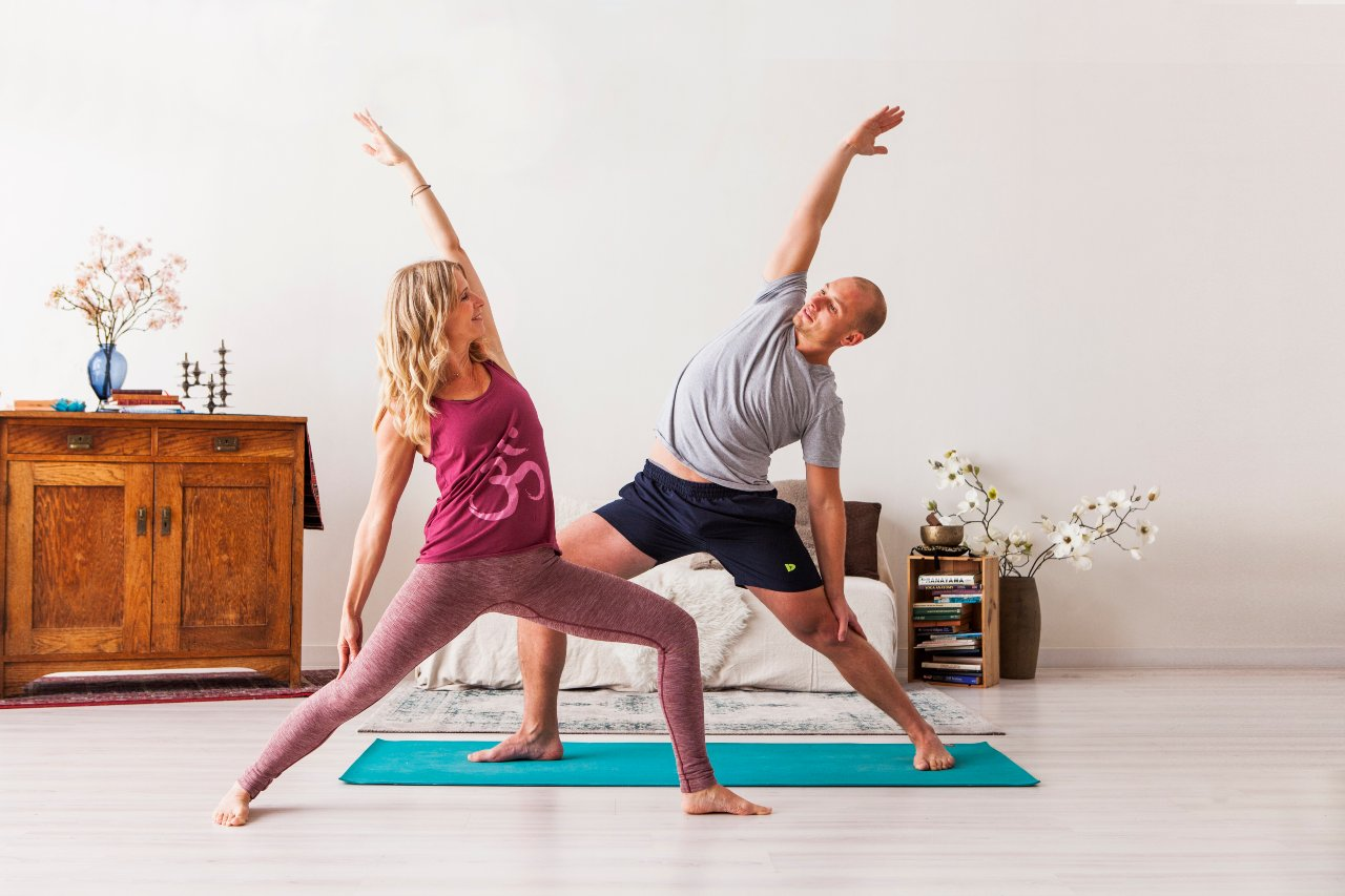 Close the Social Distancing Gap on the Yoga Mat