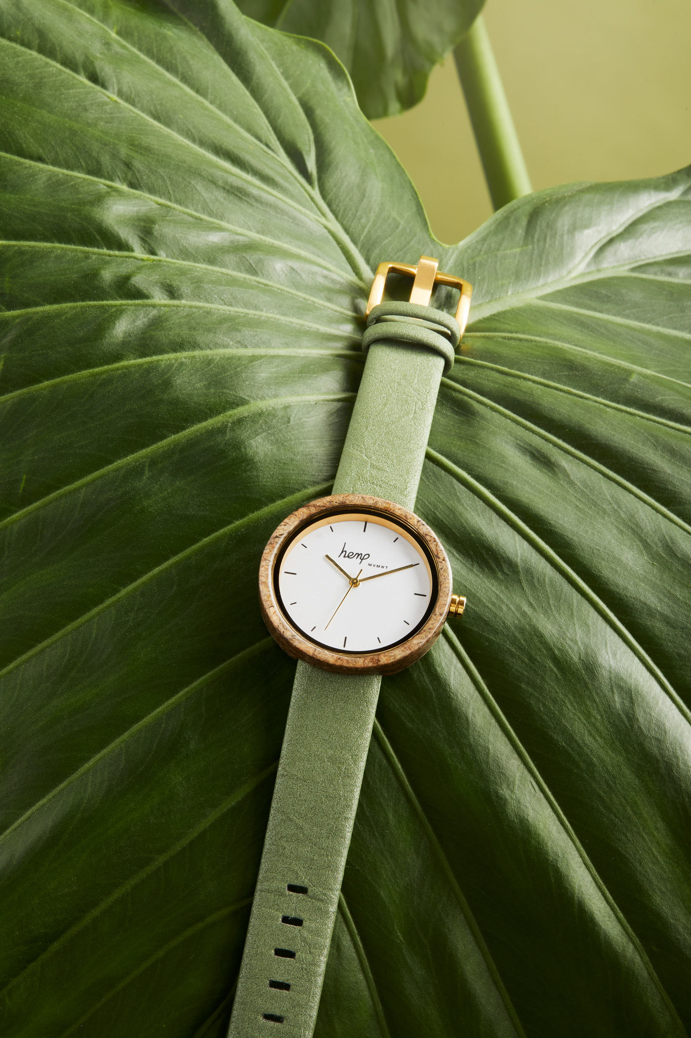 The world's first hemp watch, to be released on April 13th.