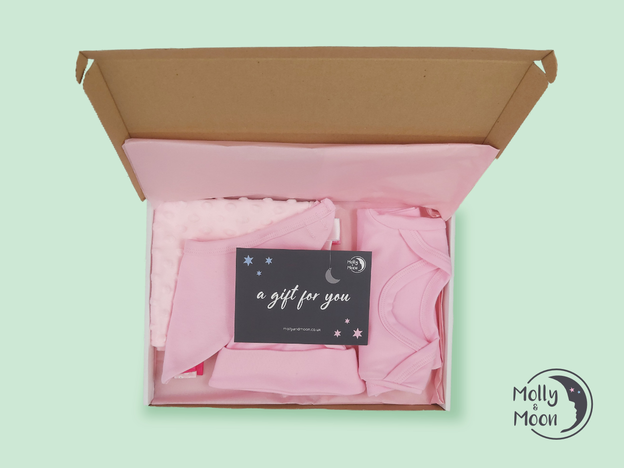 Send the Perfect New Baby Gift Through the Letterbox with Molly & Moon