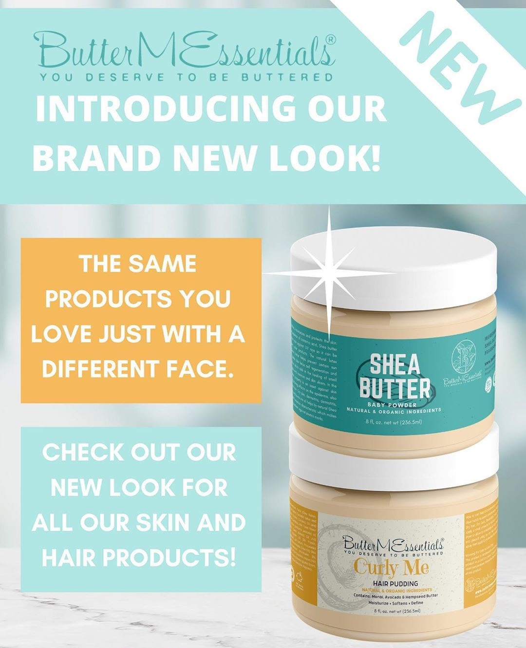 Natural Hair and Body Company ButterMEssentials Unveils New Online Look