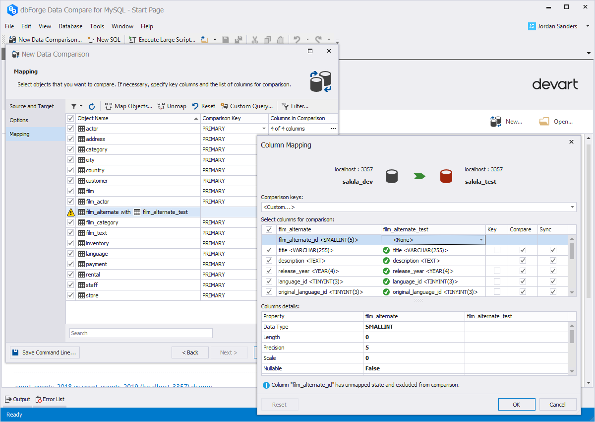 Devart Rolled Out Improved dbForge Tools for MySQL v.9.0