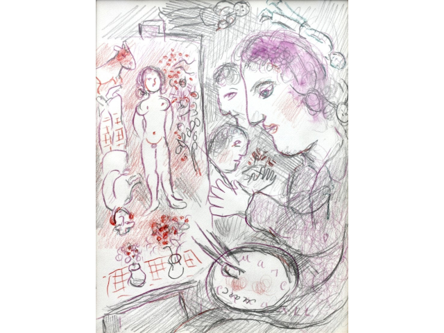 Vibrant Paintings by Marc Chagall, Montague Dawson, Daniel Ridgway Knight will be in A. B. Levy's Online Auction Nov. 19