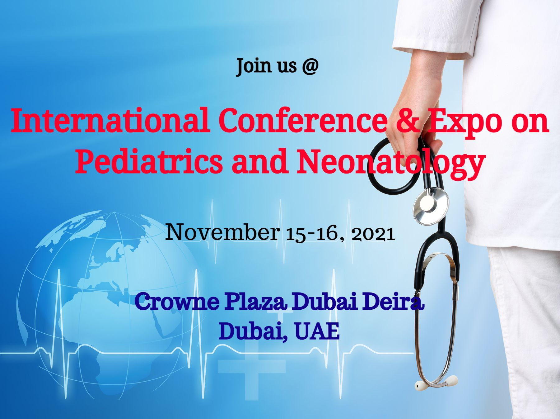 International Conference & Expo on Pediatrics and Neonatology