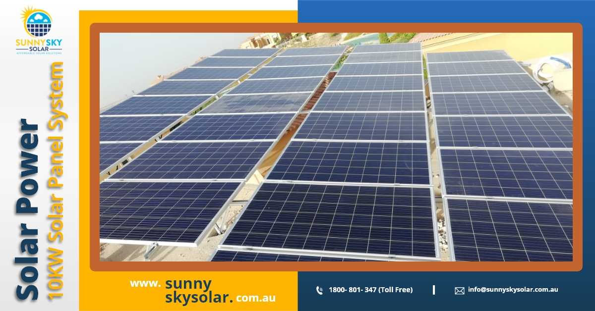 Sunny Sky Solar announced you to launch 6KW or 6.6KW Solar Power System in Brisbane
